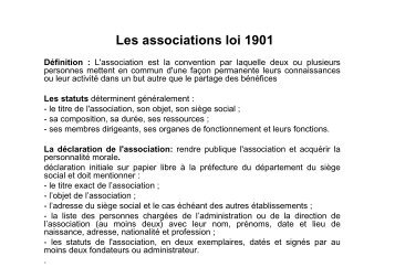 statuts juridiques des entreprises culturelles - La NACRe