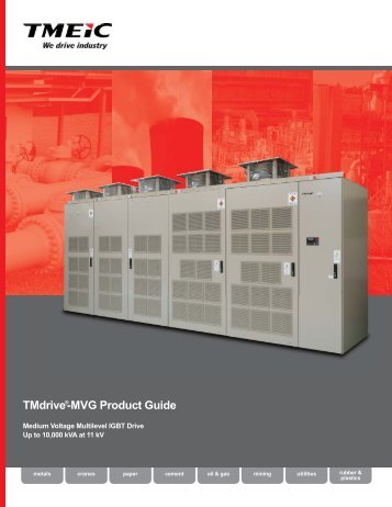 TMdrive®-MVG Product Guide - Tmeic.com
