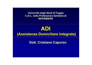 I parte - Medicina e chirurgia - Università degli Studi di Foggia