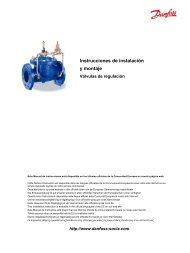 Válvulas de regulación - SOCLA