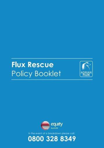 Flux Rescue - Adrian Flux