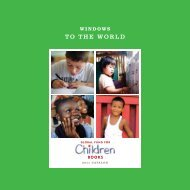 TO THE WORLD - Global Fund for Children