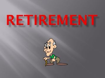 Retirement Planning by Ray Beckett, CFP