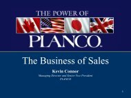 The Business of Sales - The Hartford