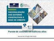 Parede de concreto em edifícios altos - ABESC