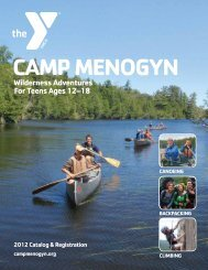 Wilderness Adventures For Teens Ages 12–18 - YMCAs