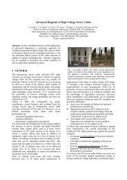 Advanced Diagnosis of High Voltage Power Cables 1 ... - sebaKMT