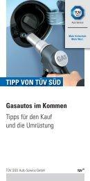 Gasautos im Kommen Tipps für den Kauf und die ... - TÜV Süd