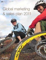 Global marketing & sales plan 2011 - Canadian Tourism ...