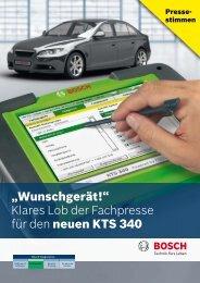 """""""Wunschgerät!"""" Klares Lob der Fachpresse für den neuen ... - Bosch"""