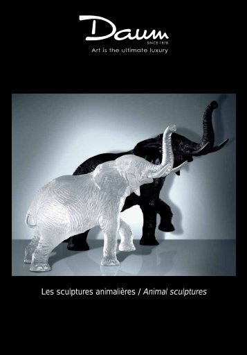 Les sculptures animalières / Animal sculptures - Beau Trading