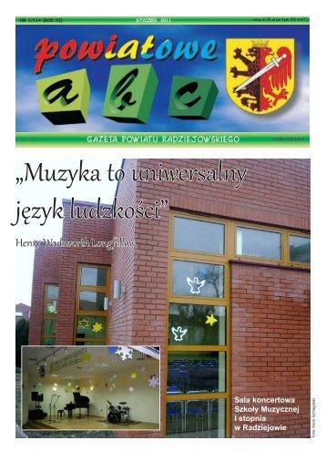 Powiatowe ABC - styczeń 2011 - Powiat Radziejowski