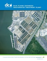 blue plains advanced wastewater treatment plant - DC Water