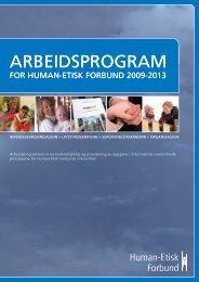 Arbeidsprogram 2009-2013 - Human-Etisk Forbund