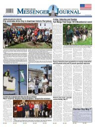 May 1, 2013 PDF Edition of the Perrysburg Messenger Journal