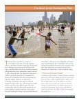Great Lakes Restoration and the Threat of Global Warming - Page 7