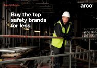 Buy the top safety brands for less - Arco