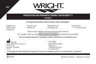 produtos de enxerto ósseo osteoset® t - Wright Medical Technology ...