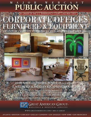 corporate offices corporate offices - Great American Group