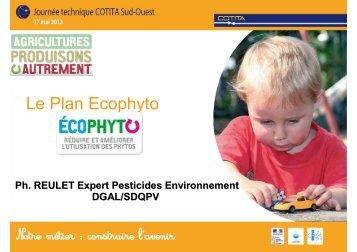 Réduction des produits phytosanitaires intervention de ... - CoTITA