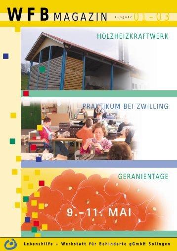 WFB MAGAZIN - Lebenshilfe-Solingen