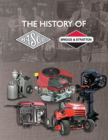 The History - Briggs & Stratton