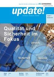 Qualität und Sicherheit im Fokus update! - Lehnkering
