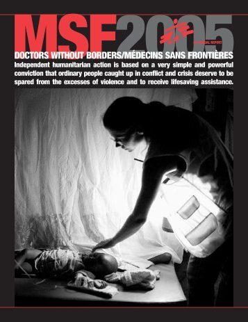 Annual Report 2005 - Doctors Without Borders