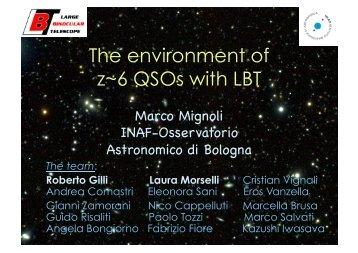 i+z - INAF-Osservatorio Astronomico di Roma