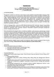 Kerangka Acuan Pekan Kondom Nasional 2007 Sebagai Bagian ...