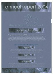 M:\Net_GHN\Annual Report\2004\a - Glasgow Homelessness Network