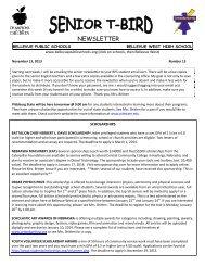 13 November 14, 2012 - Bellevue Public Schools