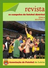 ÉPOCA 2010/11 - Associação de Futebol de Leiria
