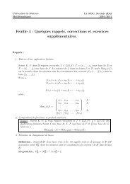 quelques corrections - Mathématiques - Université de Poitiers