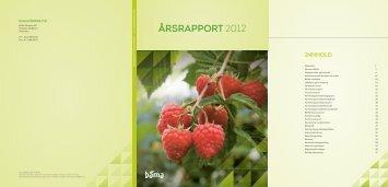 Årsrapport 2012 - Bama