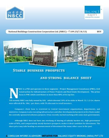 National Buildings Construction Corporation Ltd.