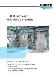 Brochure: HUBER RakeMax® Multi-Rake Bar Screen