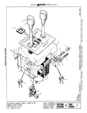 Section 6 - Transmission - Model 8400