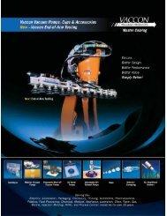 Cylindrical Venturi Vacuum Pumps