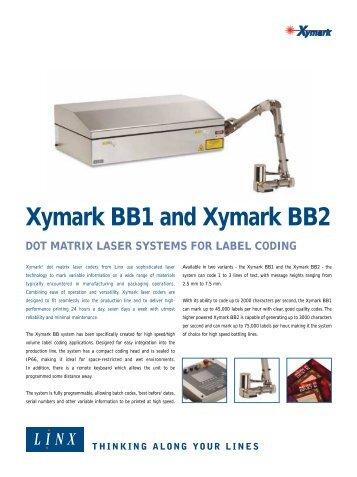 Xymark BB1 and Xymark BB2 - linx