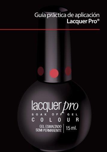 Guía práctica de aplicación Lacquer Pro® - Organic Nails