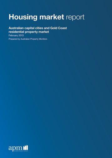 Housing market report - Domain.com.au