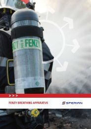 FENZY BREATHING APPARATUS - Thermo Fisher