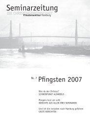 Nr.7 | 2007 - Priesterseminar Hamburg