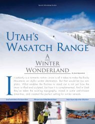 Utah's Wasatch Range - Forbes Special Sections