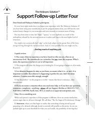 Support Follow-up Letter Four