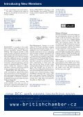 Mar - British Chamber of Commerce in the Czech Republic - Page 6