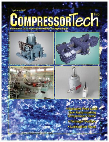 New Reciprocating Compressor Frame - Capstone Turbine
