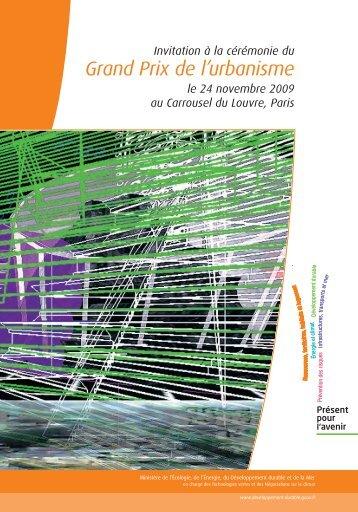 Grand Prix de l'urbanisme 2009 - Café de las ciudades