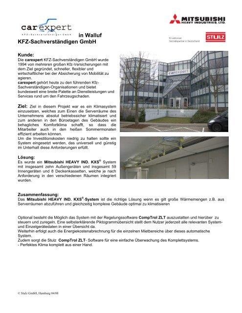 carexpert Referenz - Stulz GmbH